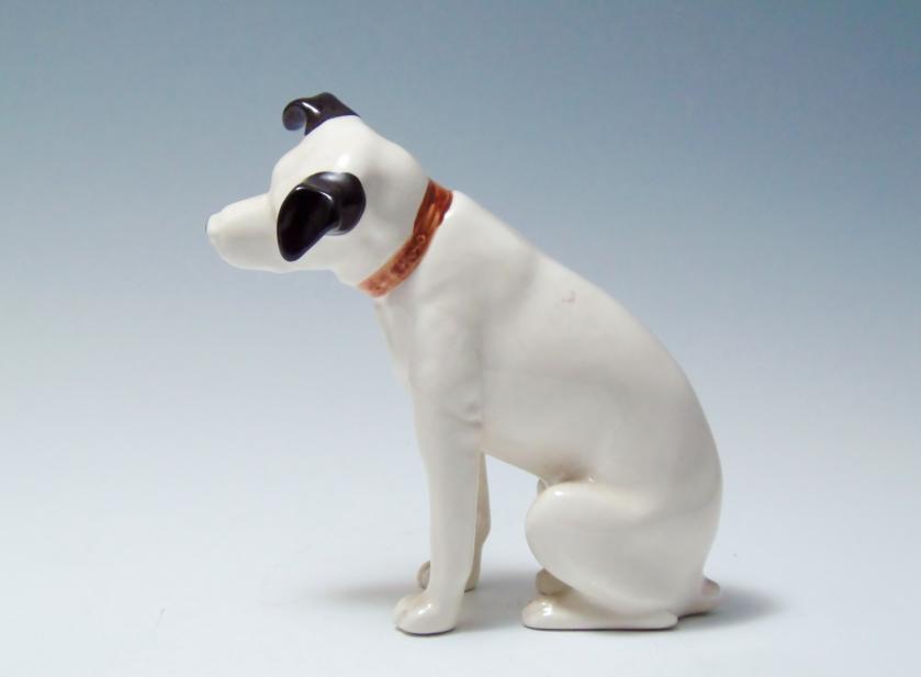 犬 陶器 置物