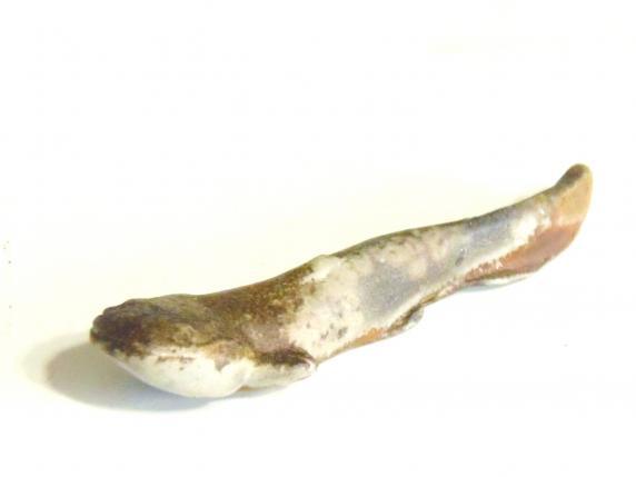 備前焼 箸置 鰻