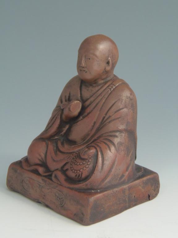 古備前焼 僧侶