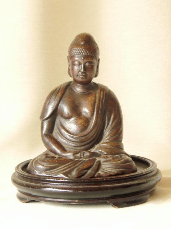 古備前焼 置物 仏像