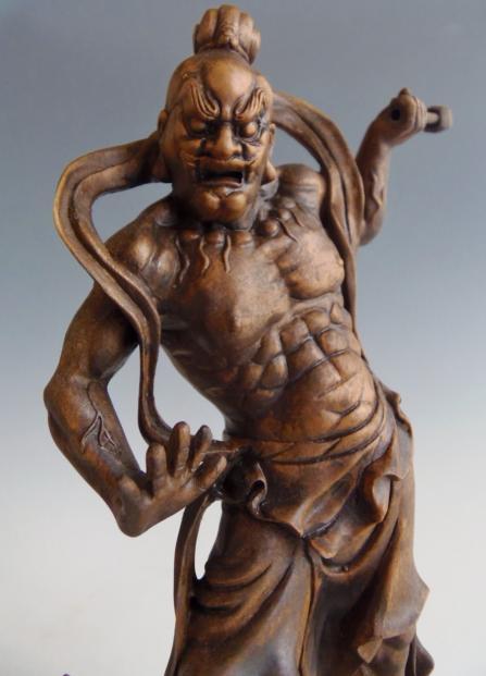 木彫 置物 仁王像