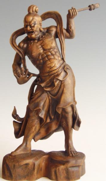 木彫 置物 金剛力士 仁王像