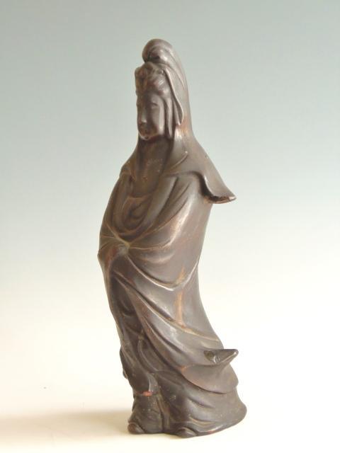 備前焼 置物 仏像