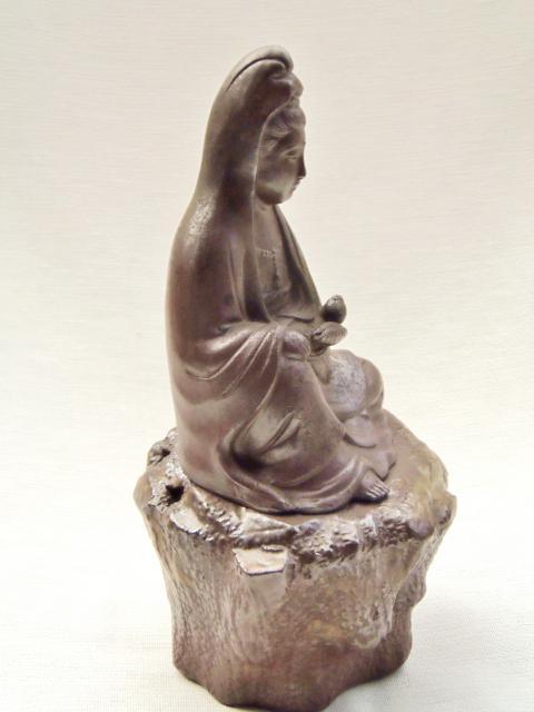 陶器 観音像