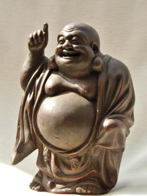 備前焼 置物 七福神 布袋尊 重要無形文化財 森陶岳