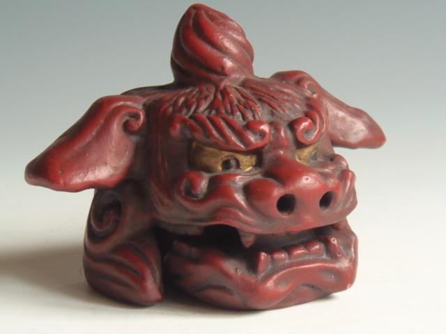 獅子舞 陶器