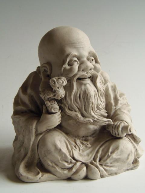 七福神 置物 寿老人