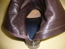 ブーツ中敷き修理