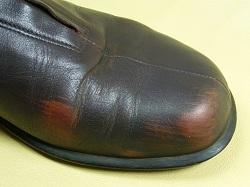 靴の色落ち
