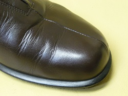 靴の染め直し