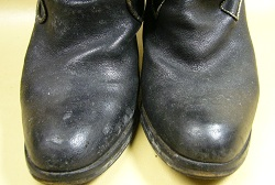 ブーツ カビ