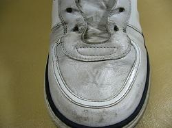 白い靴汚れ落とし