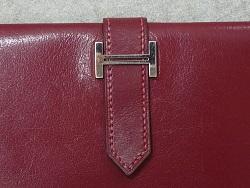 エルメス財布 ほつれ縫い