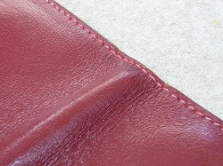 エルメス財布 糸縫い