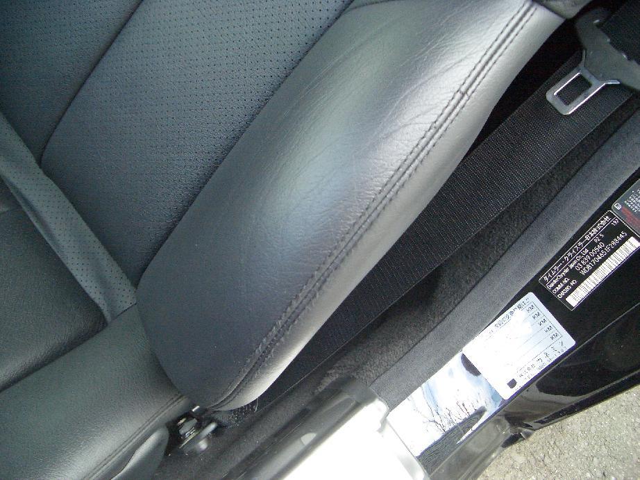 自動車レザーシート、ハンドル、その他革内装の修理