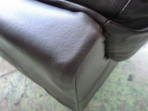 革のソファセット 部分補修例 施工後