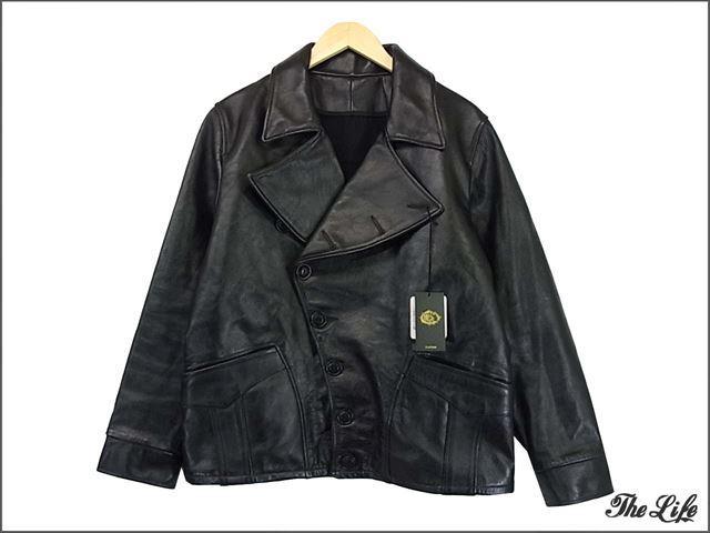 BLACK SIGNホースハイド/ハワードジャケット40/黒/ブラックサイン/アヴィエータージャケット/HOWARD JACKET