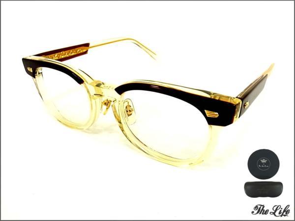 TENDERLOINテンダーロイン×白山眼鏡T-JERRYサングラス (BROWN/CLEAR) キハク