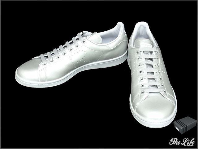 adidas×RAF SIMONS/S74591 STAN SMITHスニーカー US9.5 アディダス ラフシモンズ スタンスミス/外箱付属