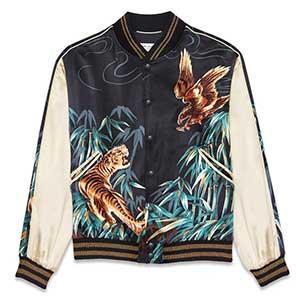 サンローラン 16AW テディジャケット イーグル & タイガー画像