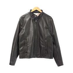トムブラウン レザージャケット short fencing jacket 画像