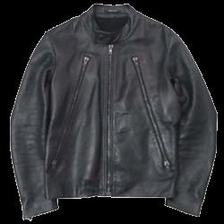 メゾンマルジェラ 八の字 ライダースジャケット 画像