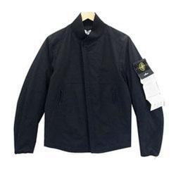 ストーンアイランド MA-1ジャケット ブラック系 画像
