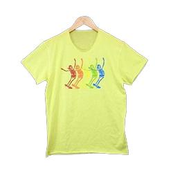 ルシアンペラフィネ スケートボード スカル プリント Tシャツ 画像