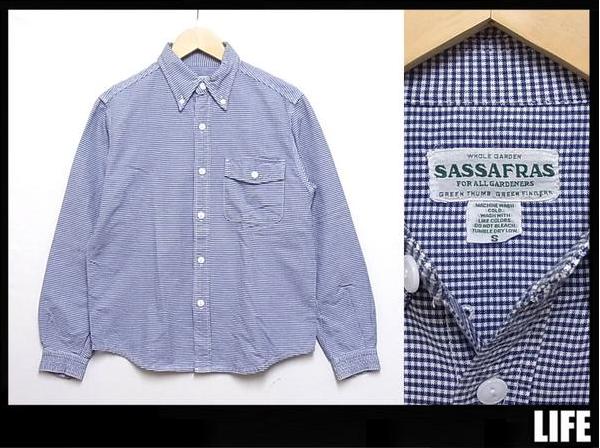 SASSAFRAS / ササフラス 長袖シャツ ¥7000 買取