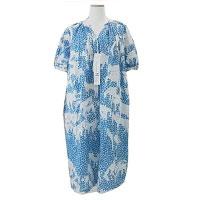 laundry LD3067 oasis オアシス ドレス ワンピース ブルー系 36画像