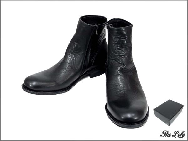 NUMBER(N)INEナンバーナインZIP UP PLAIN BOOTSブーツ9/S14-NF002/店頭展示品/タグ付属
