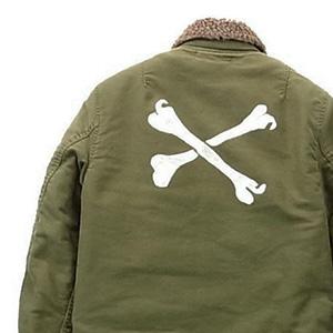 WTAPS 11AW クロスボーン M-43ジャケット画像