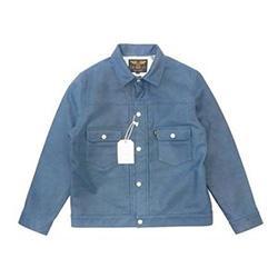 キャリー 2nd type indigo leather jacket 18AW CL-18AW058 画像