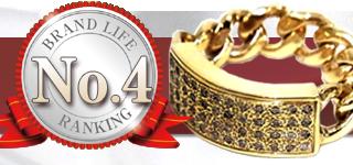 No.4 I.D RING IDリング 22号  ゴールド&ストーン_TENDERLOIN買取ランキング