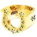 高価買取T-H.S RING ホースシューリング #13号 ゴールド&ストーン