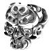 T-SKULL RING ボルネオスカルリング #19号 シルバー