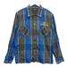08SS T-POLY SHT S チェックシャツ XSサイズ~¥10,000