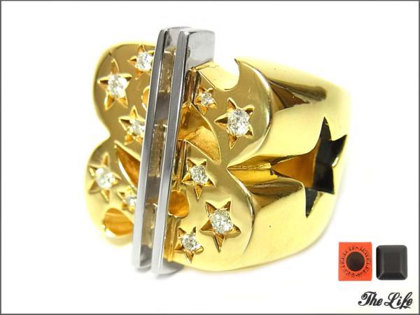 TENDERLOIN T-$ RINGダラーリング(8K×ダイヤ)19号/テンダーロイン