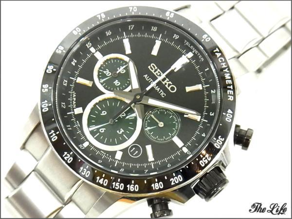 SEIKO 8R28-00H0 SAGK011ブライツ フェニックス 腕時計/セイコー/自動巻き/ウォッチ/BRIGHTZ PHOENIX/メカニカル/クロノグラフ/エターナルグリーン