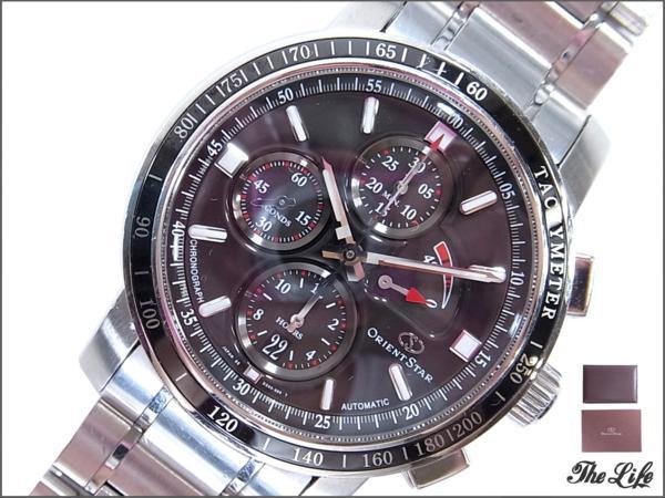 ORIENTオリエント WZ0011DSクラブマンクロノグラフ時計/Clubman/腕時計
