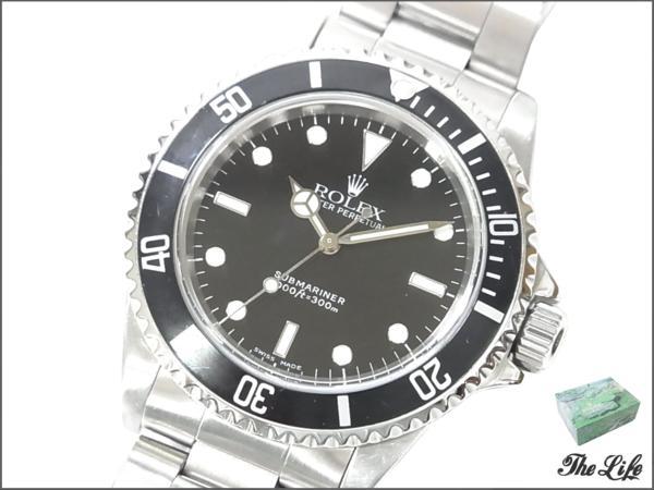 ROLEXロレックスRef 14060/A番/サブマリーナ/腕時計