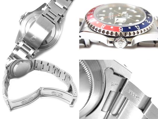 ロレックス高く買取ます!GMTマスター Ref.16700 N品人気アイテムの為高額査定提示中!