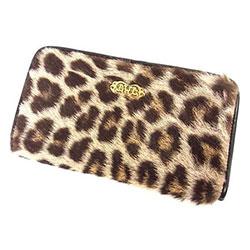 ビルウォールレザー Leopard Wallet ハラコ レオパード画像