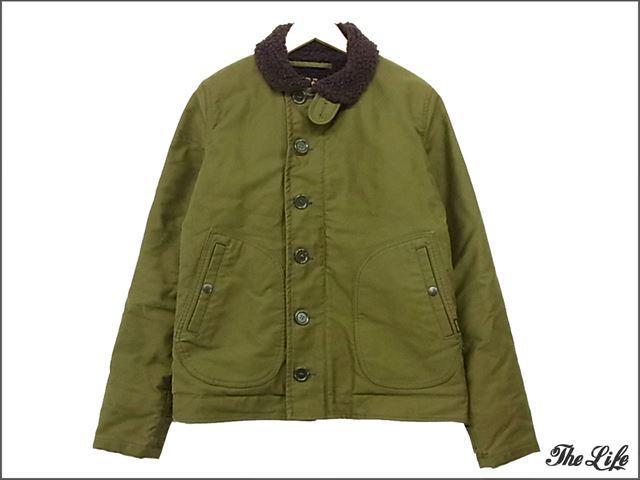 IRON HEARTアイアンハートN-1ジャケットS/オリーブ