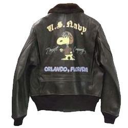 バズリクソンズ  G-1ジャケット スヌーピー ハンドペイント 画像