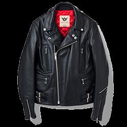 666トリプルシックス LJM-1 U.K. サイドベルト ライダースジャケット 画像
