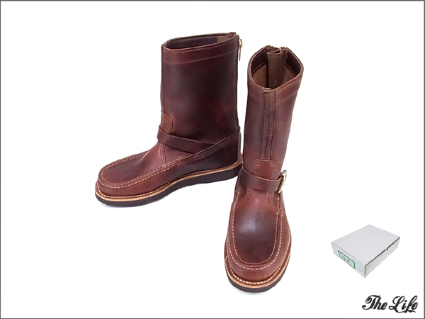 RussellMoccasinラッセルモカシンZephyr Bootsブーツ8D(TAN CHROMEXEL)/別注品/店頭展示品/外箱付属/ゼファーブーツ