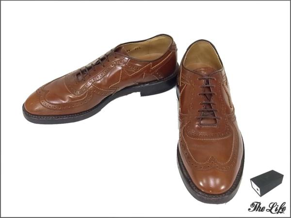 REGALリーガル×APEウィングチップシューズ#26.5 Mr.BATHING APE by UNITED ARROWS WING TIPS SHOESa