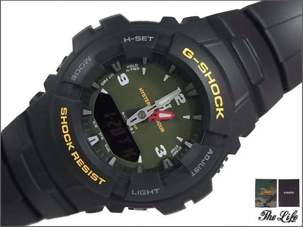 15AW G-SHOCK×HYSTERIC G-100-1BMJF アナデジウォッチ/時計/カシオ×ヒステリックグラマー/0253QG03/WOMAN ON H
