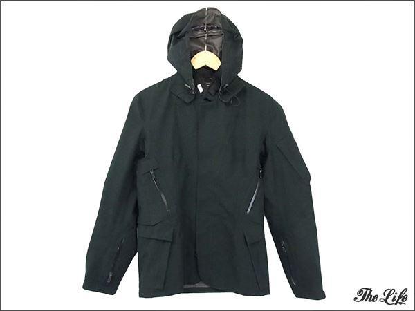 cronymアクロニウムGT-J29ゴアテックスジャケットS黒/テーラードジャケット/シェルジャケット/2WAY/High-Density Gabardine Blazer/GORE-TEX/Jacket Slingベルト付属/チェコ製